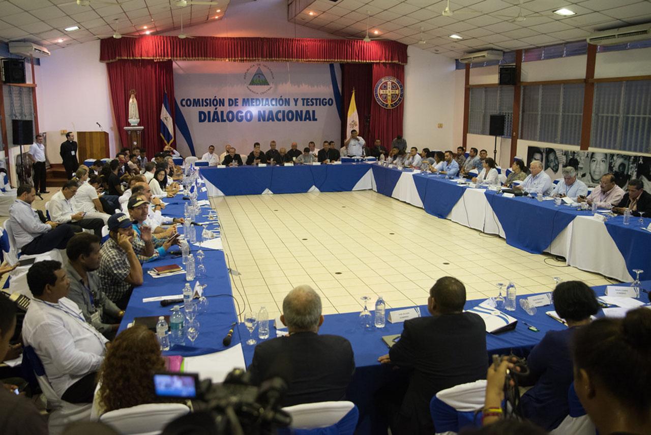 "Diálogo en Nicaragua avanza de manera ""positiva"""