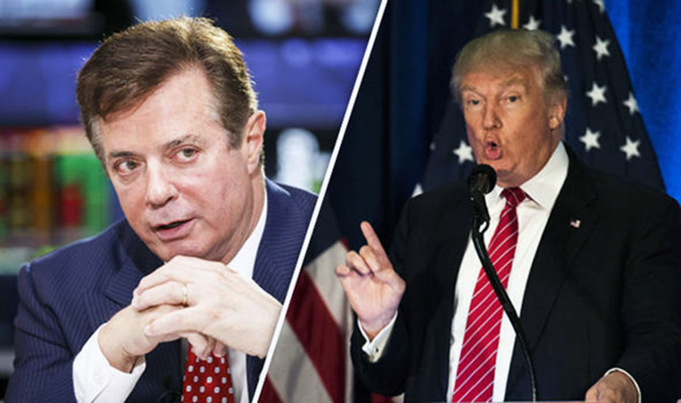Donald Trump dice estar conforme tras la condena de Paul Manafort