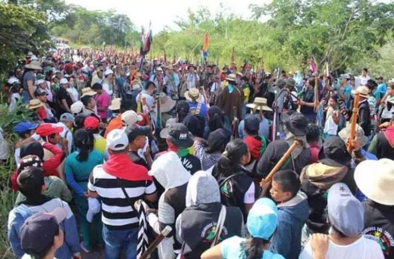 Indígenas colombianos desbloquean departamento y se suman a mesa de diálogo