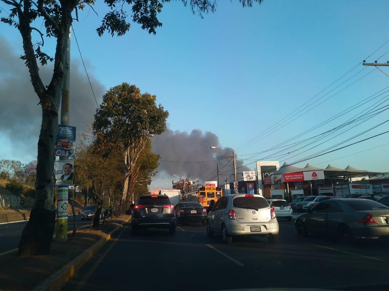 Incendio en el basurero de la zona 3. Fotos: Gerardo Rafael y Julio López.