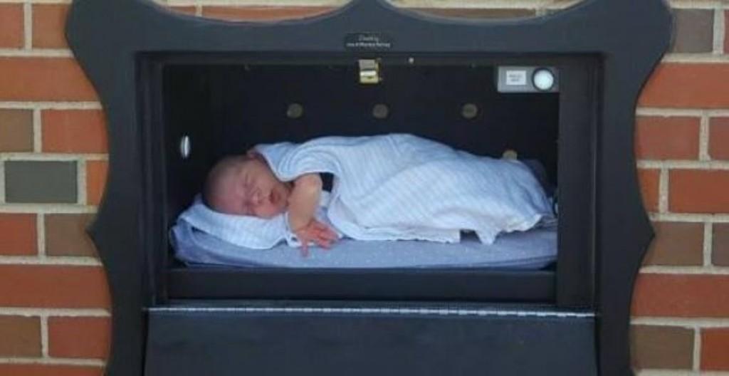 buzones bebés recién nacidos Safe Haven Baby Boxes
