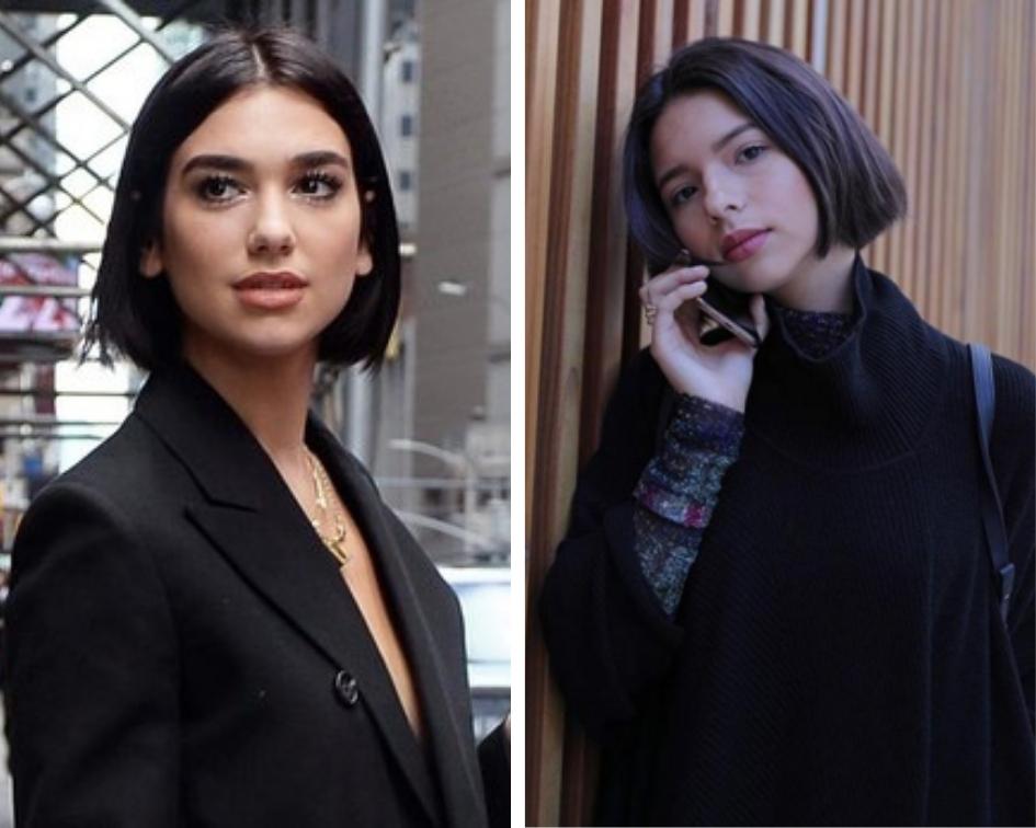 Dua Lipa y Ángela Aguilar