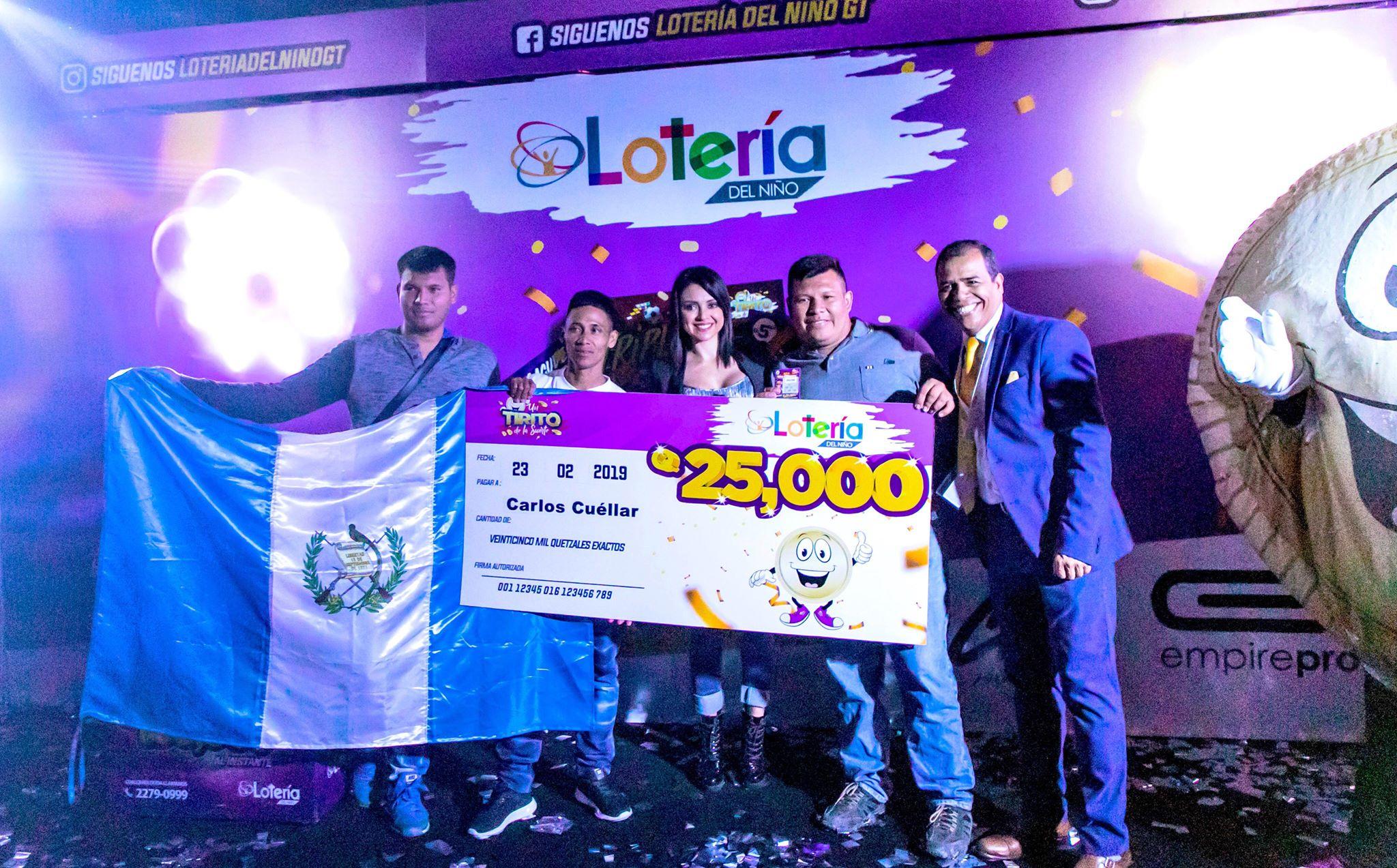 Lotería del niño Guatemala
