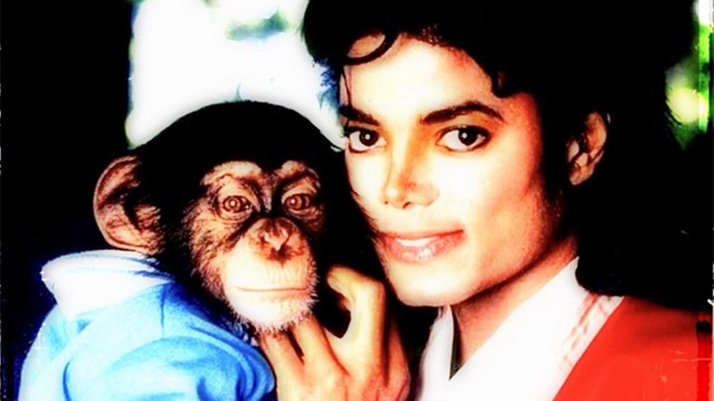 chimpancé Michael Jackson niñera