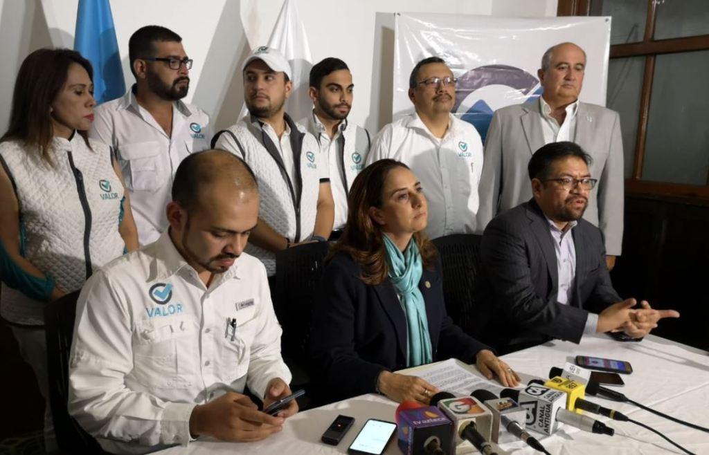 Partido Valor denuncias proceso electoral 2019