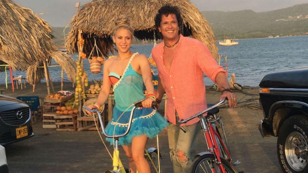 Shakira Carlos Vives La Bicicleta