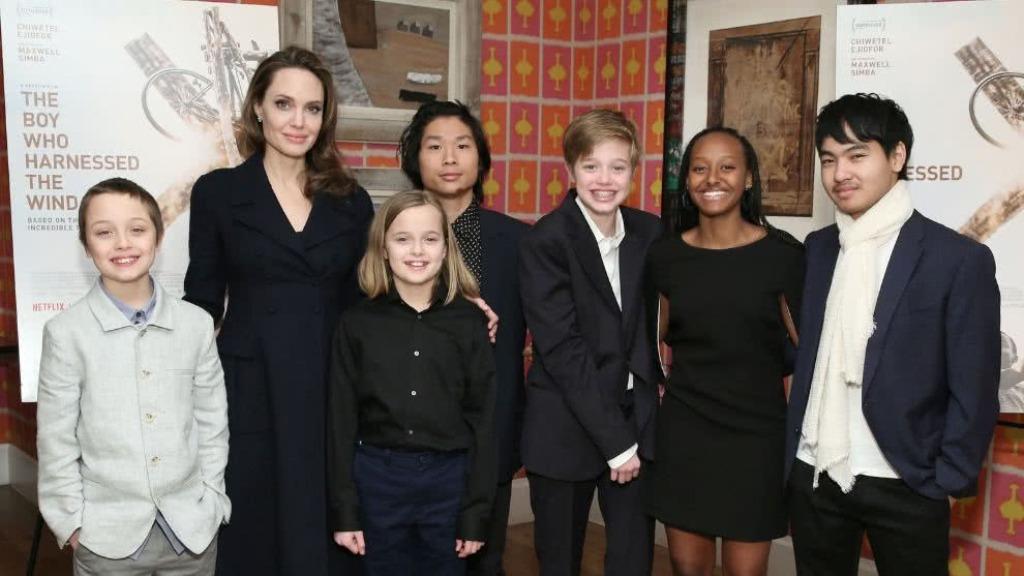 Angelina Jolie Brad Pitt Shiloh
