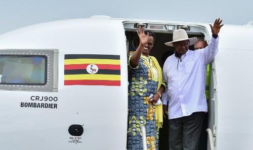 Yoweri Museveni, presidente de Uganda. Foto: AFP.