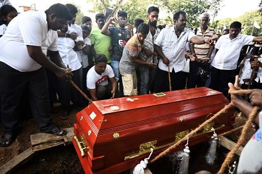 Ataques en Sri Lanka. Foto: AFP.