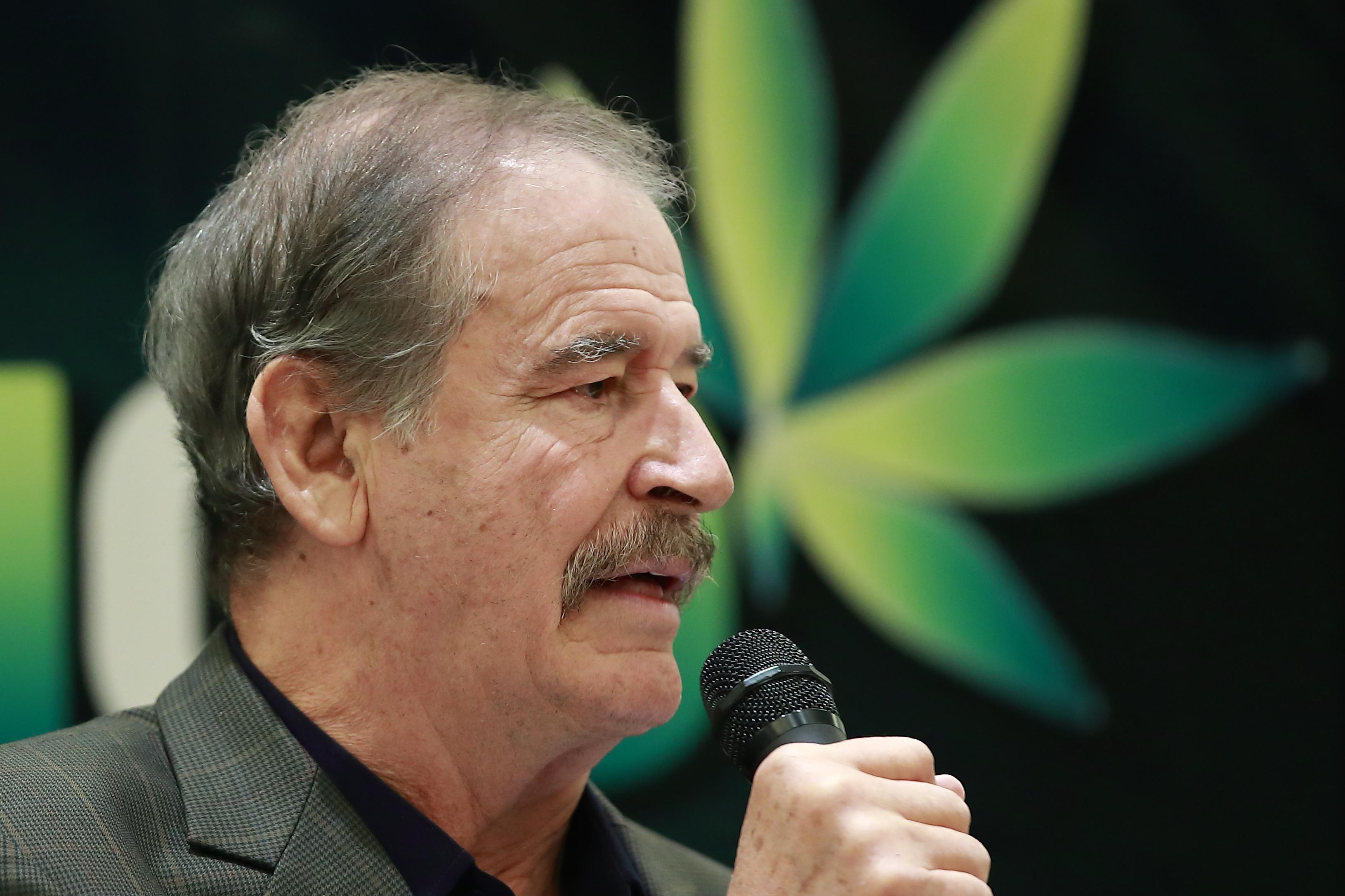 Expresidente mexicano Vicente Fox. Foto: EFE.