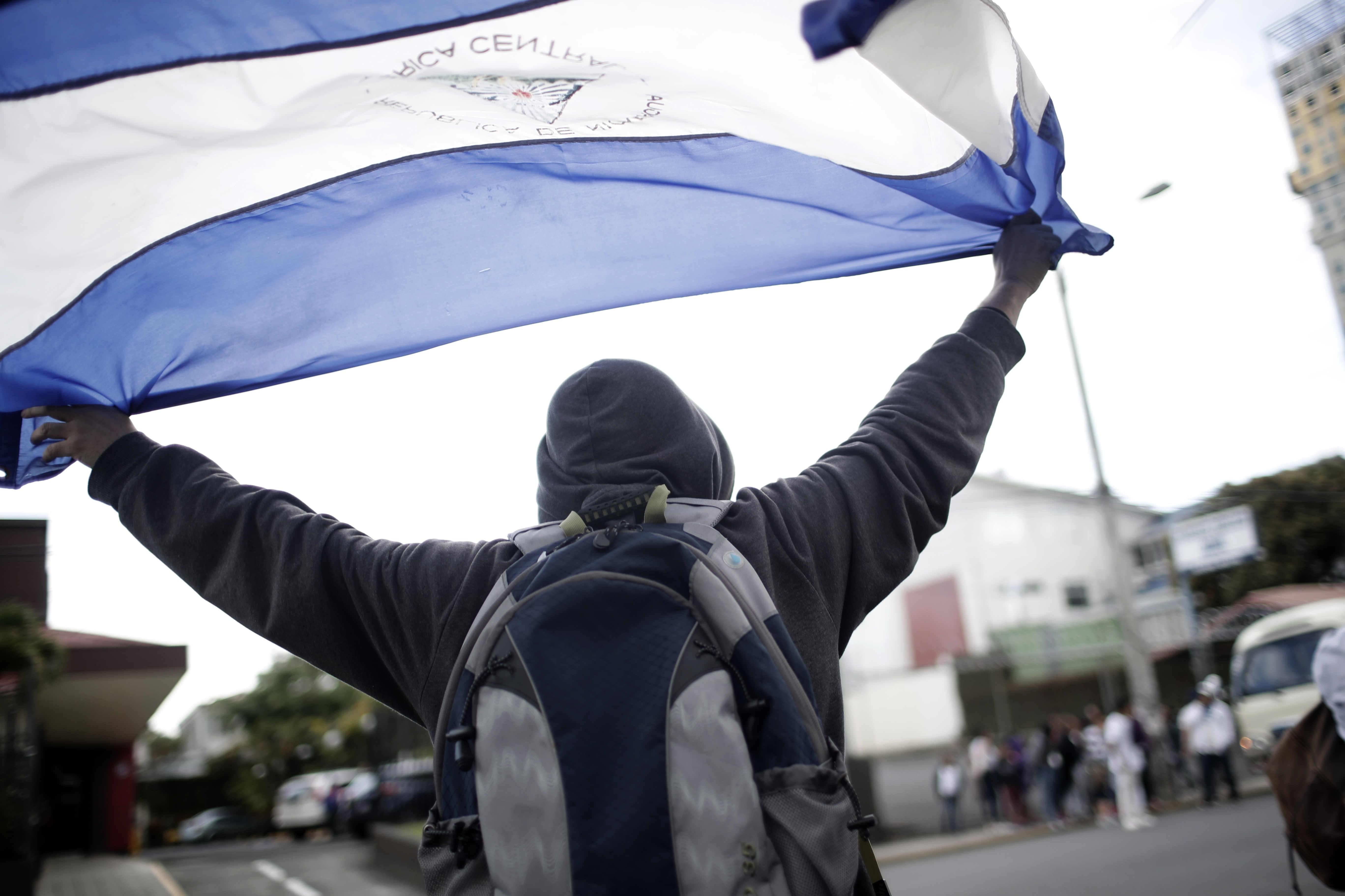 La crisis en Nicaragua se agudiza. Foto: EFE.