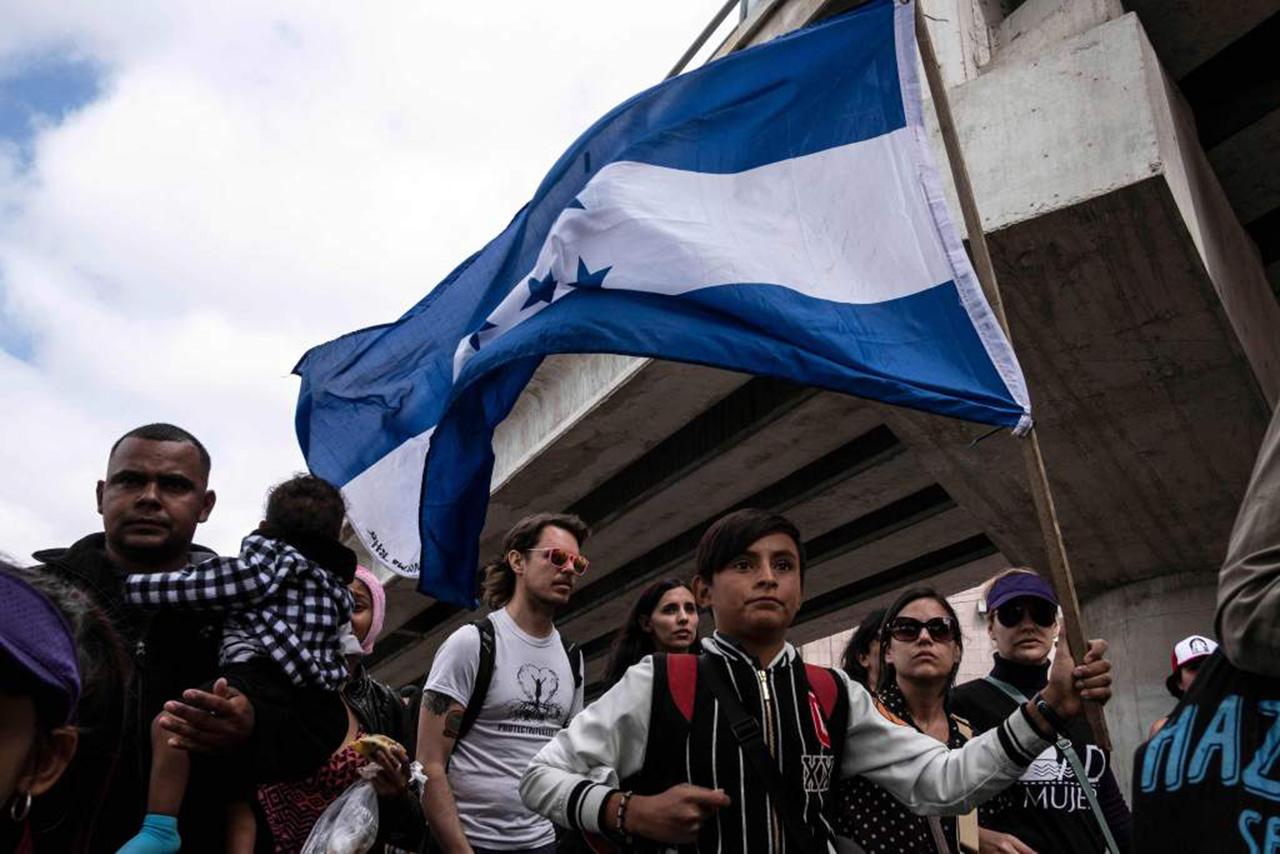 Caravana migrante: tres hondureños fueron detenidos. Foto con fines ilustrativos
