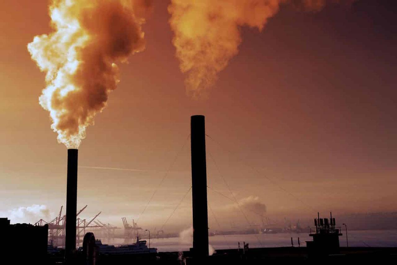 La contaminación del aire disminuye la esperanza de vida. Foto con fines ilustrativos
