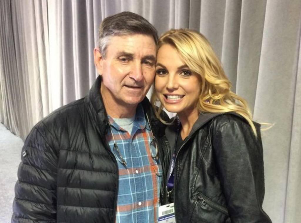 Britney Spears y su papá