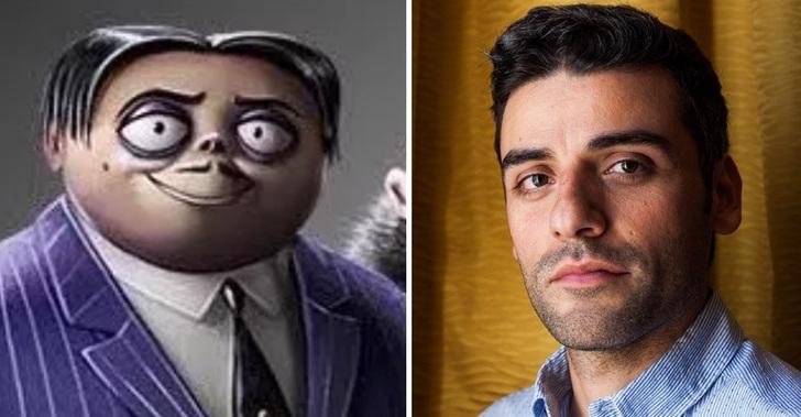 Los locos Addams Oscar Isaac Homero
