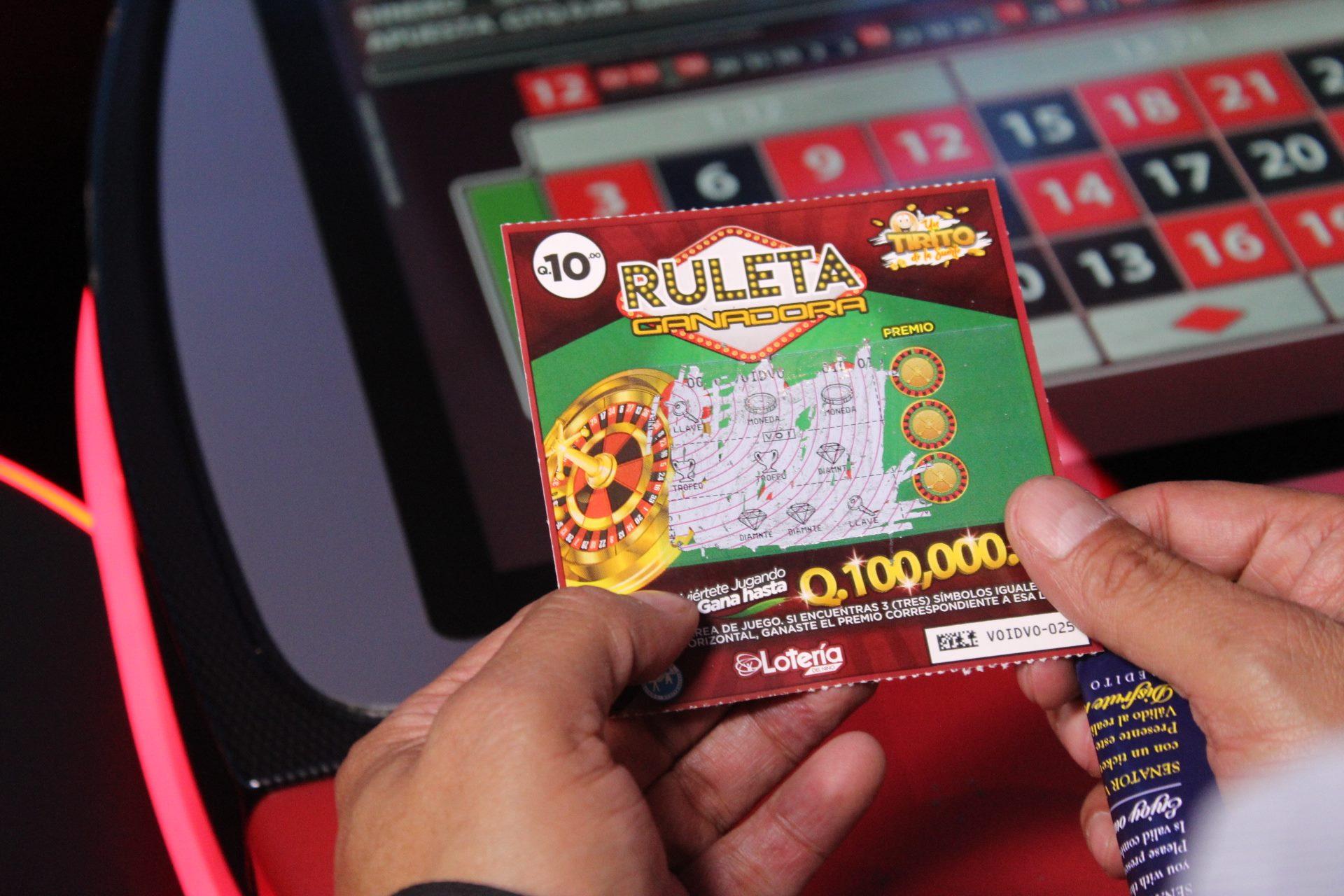 Lotería del Niño Ruleta Ganadora