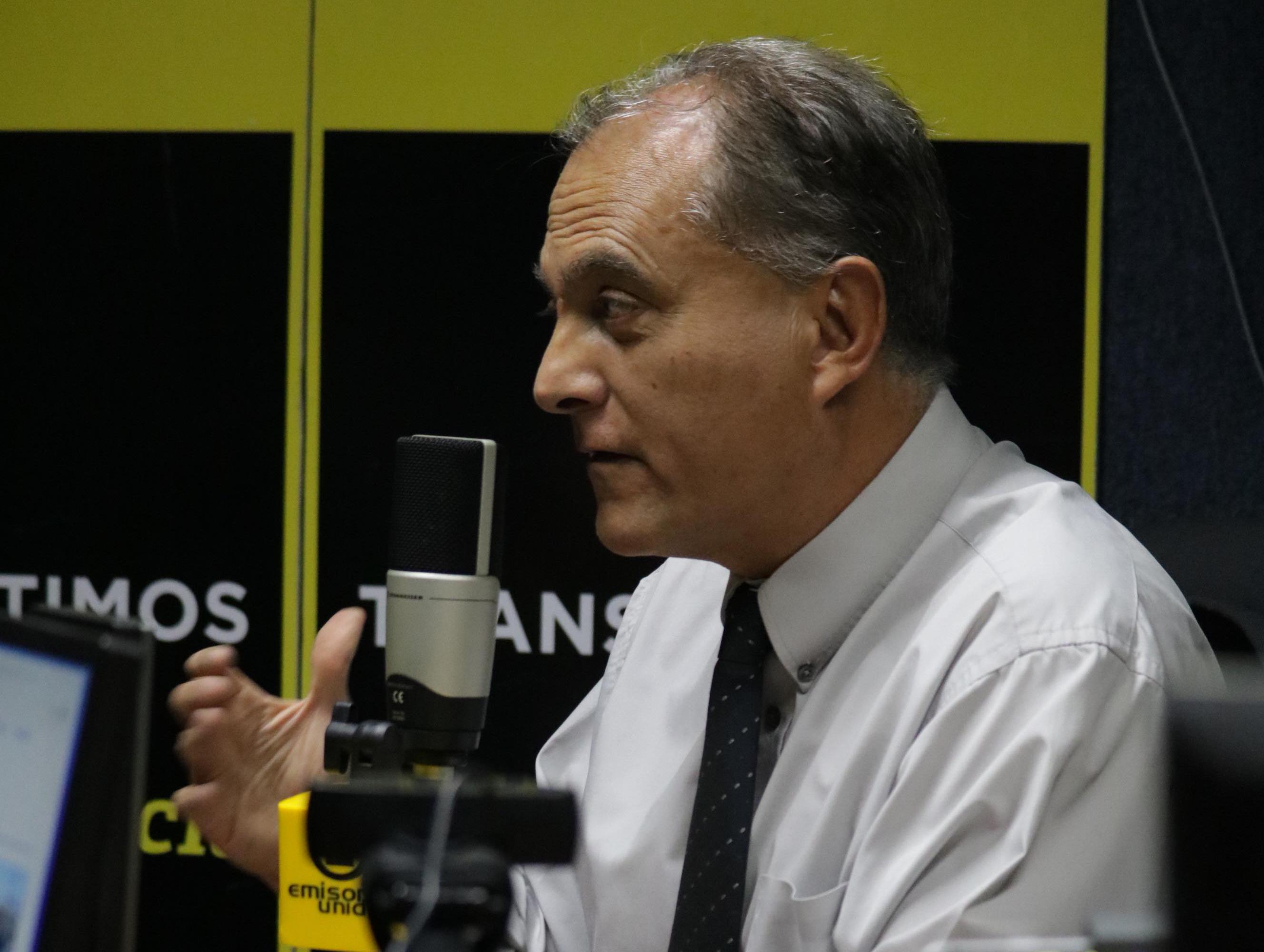 Manuel Villacorta, candidato a la presidencia de Winaq. Foto: Alejandro Chet.