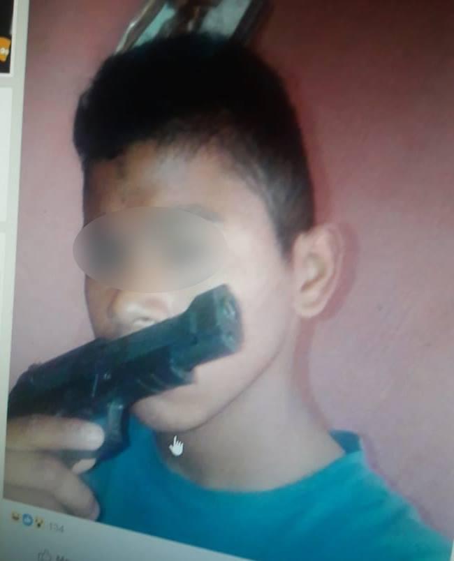 Menor amenazaba por Facebook.