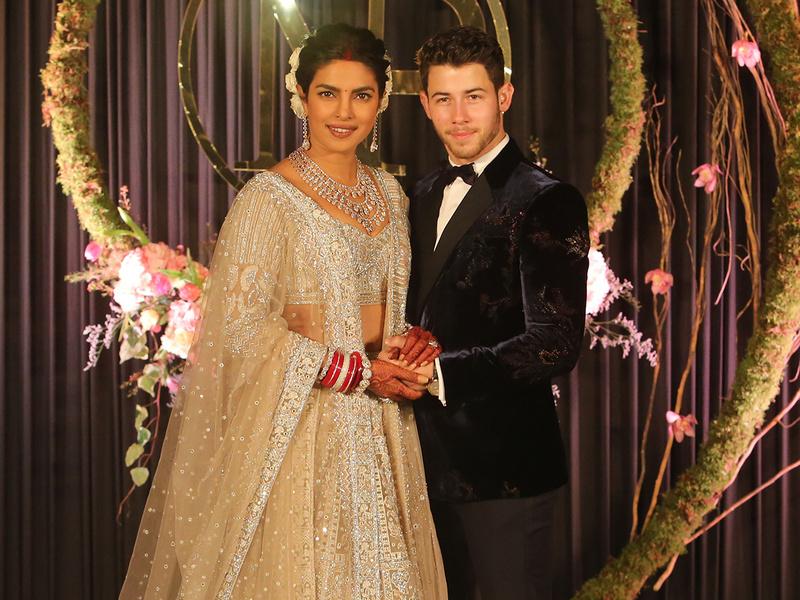 Nick Jonas y Pryanka Chopra