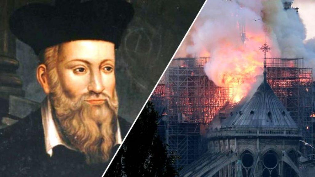 Nostradamus profecías Notre Dame
