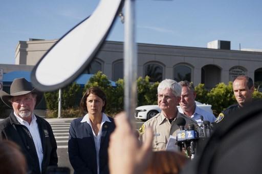 Ataque en Sinagoga de San Diego. Foto: AFP.