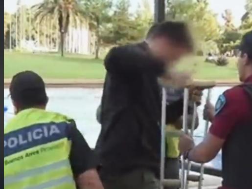 Motoladrón arrestado