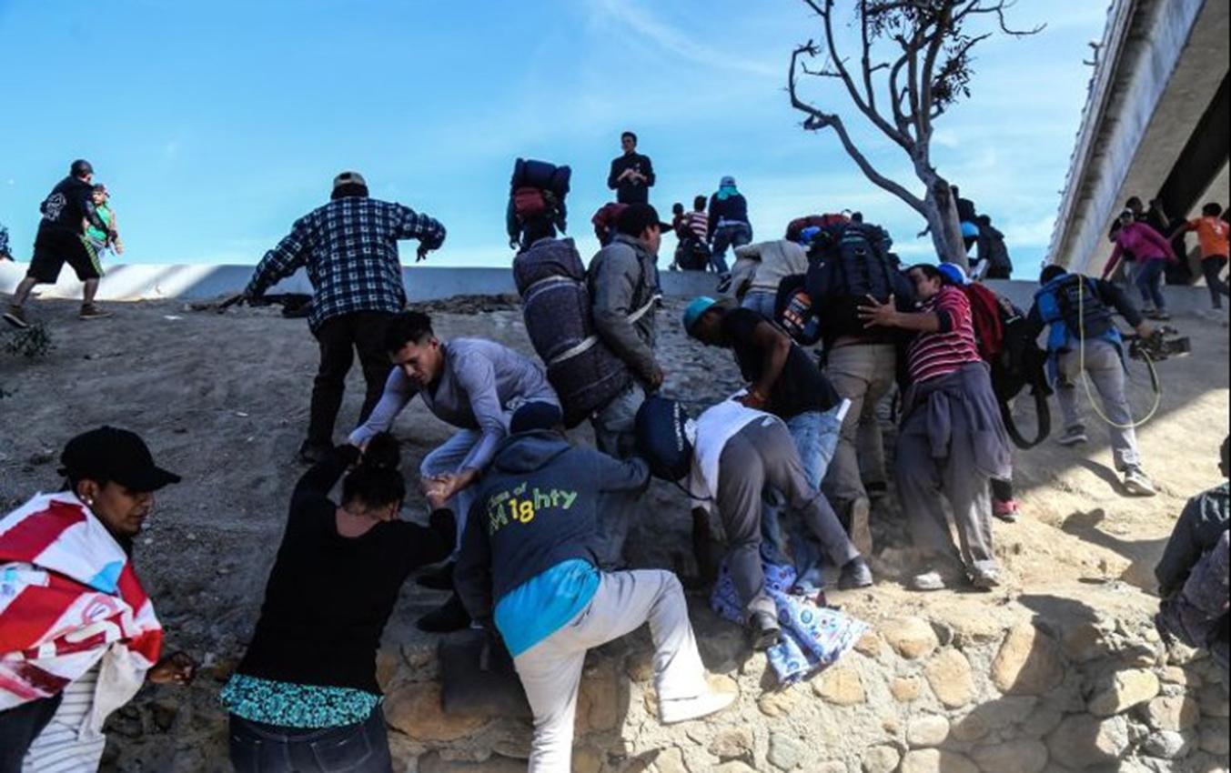 EEUU arrestó grupo de inmigrantes en la frontera con México Foto con fines ilustrativos
