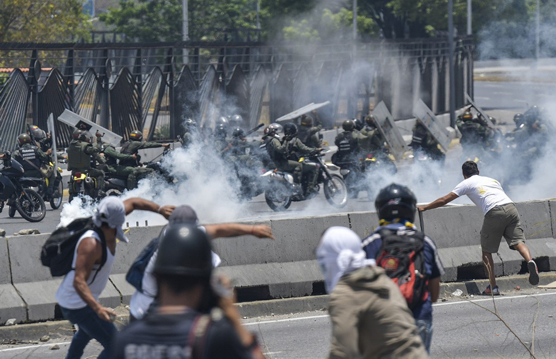 EEUU condena ataques contra manifestantes en Venezuela