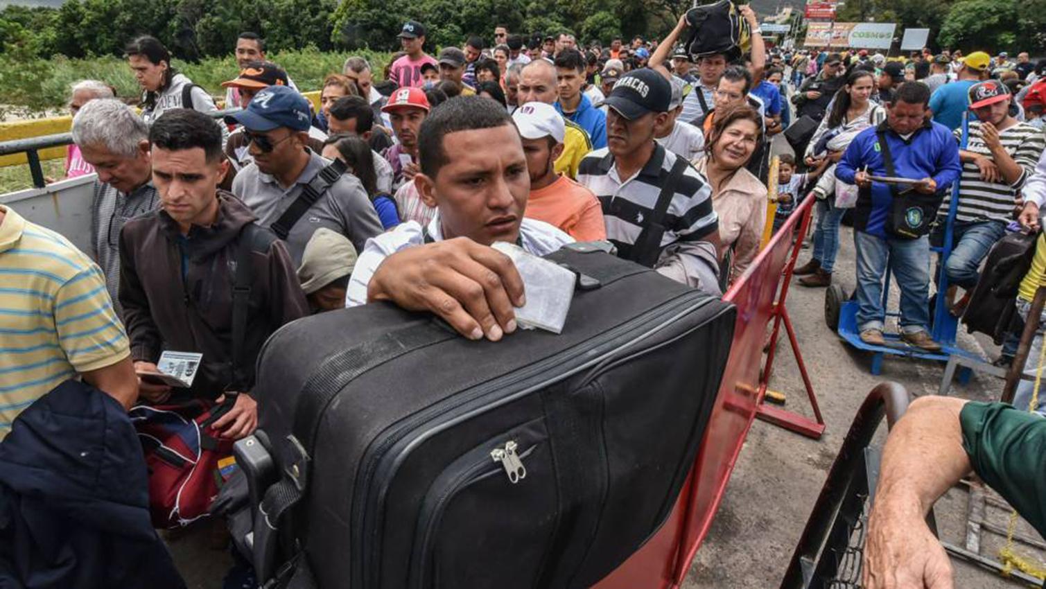 Ecuador estudia imponer una visa a venezolanos. Foto con fines ilustrativos