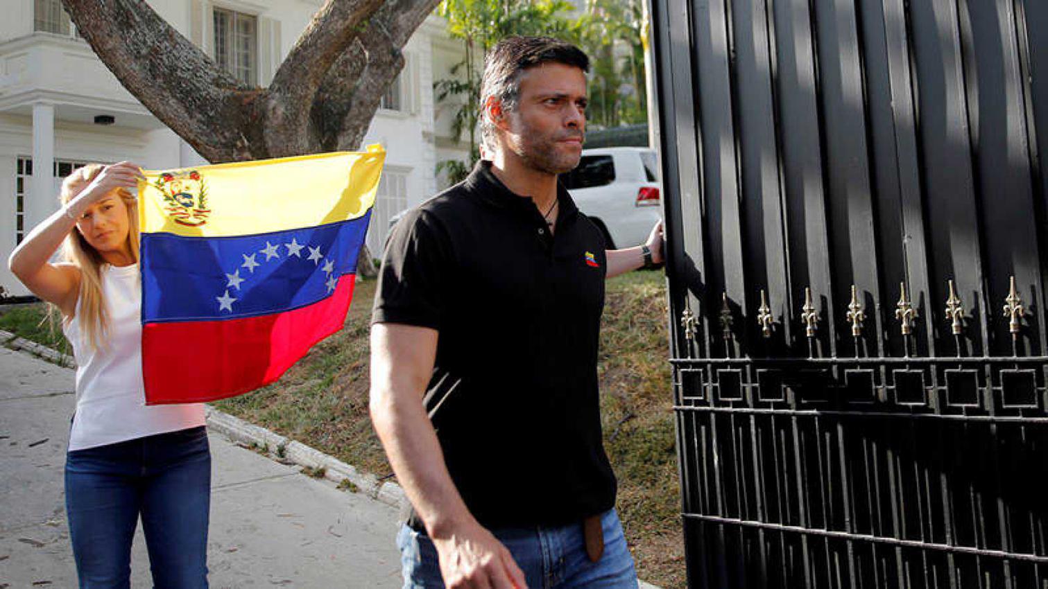 España advierte a Leopoldo López