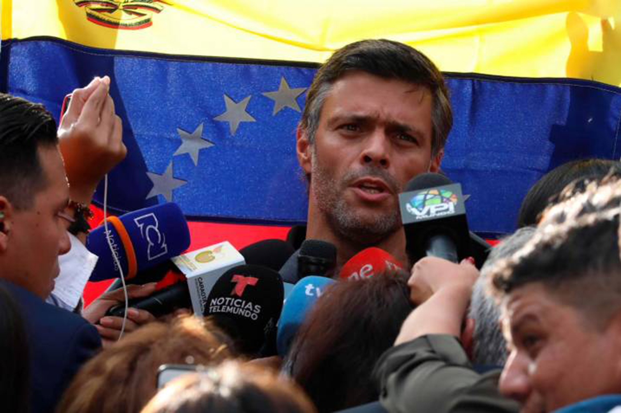 Leopoldo López advierte que habrá nuevos alzamientos militares contra Maduro