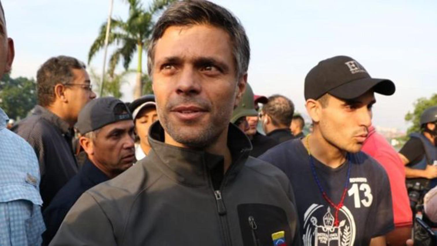 Un Tribunal venezolano ordena capturar a Leopoldo López