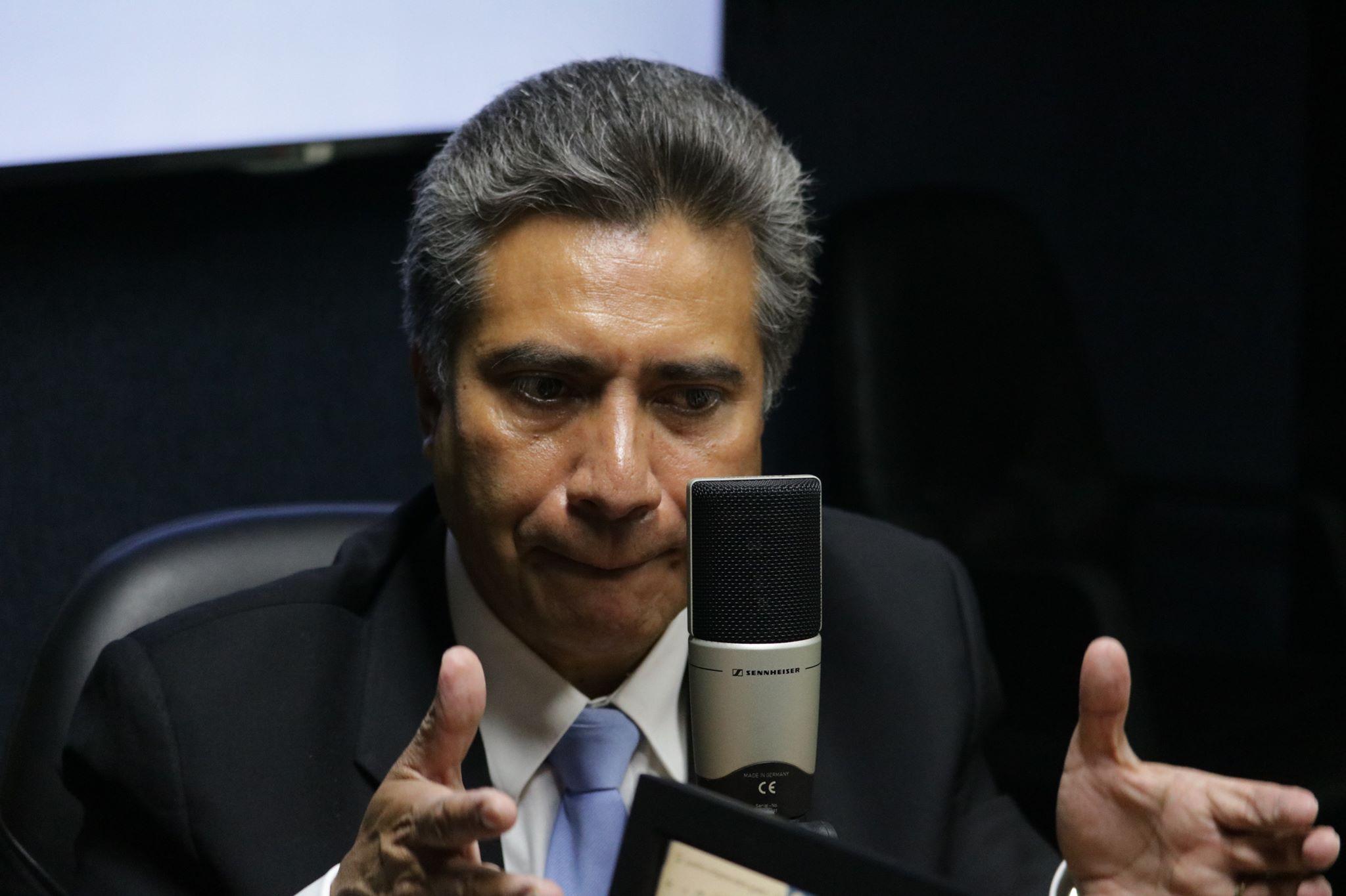 Fredy Cabrera, candidato de Todos.