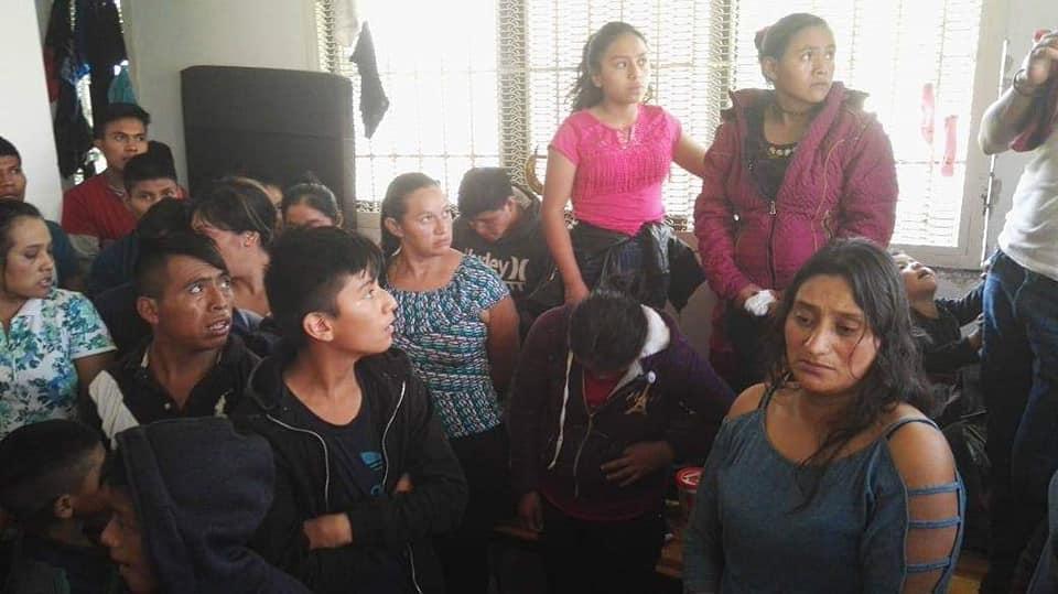 Migrantes guatemaltecos Comitan Chiapas