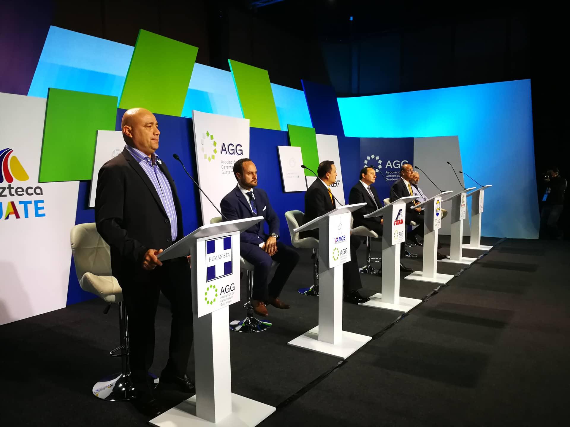Candidatos a Alcalde de la Capital.