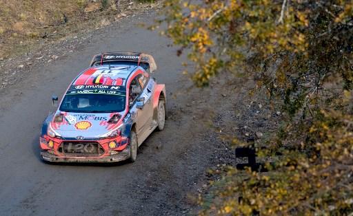 Thierry Neuville en el Rally de Chile.