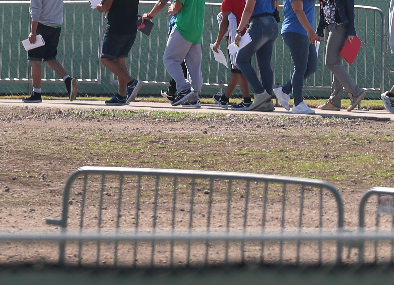 Activistas de EEUU piden cerrar albergue de menores migrantes en Florida Foto con fines ilustrativos