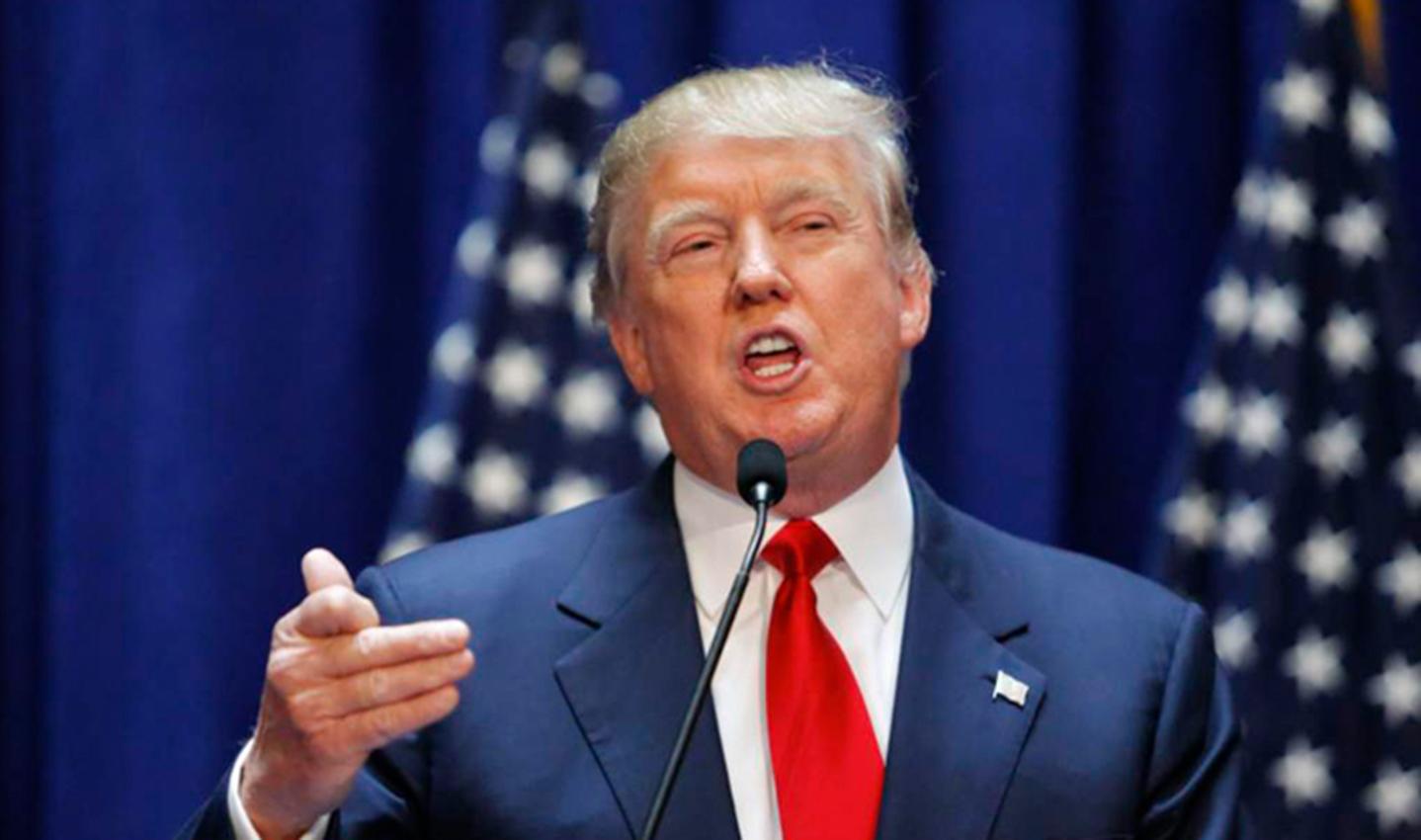 El presidente estadounidense, Donald Trump, acusa a Twitter