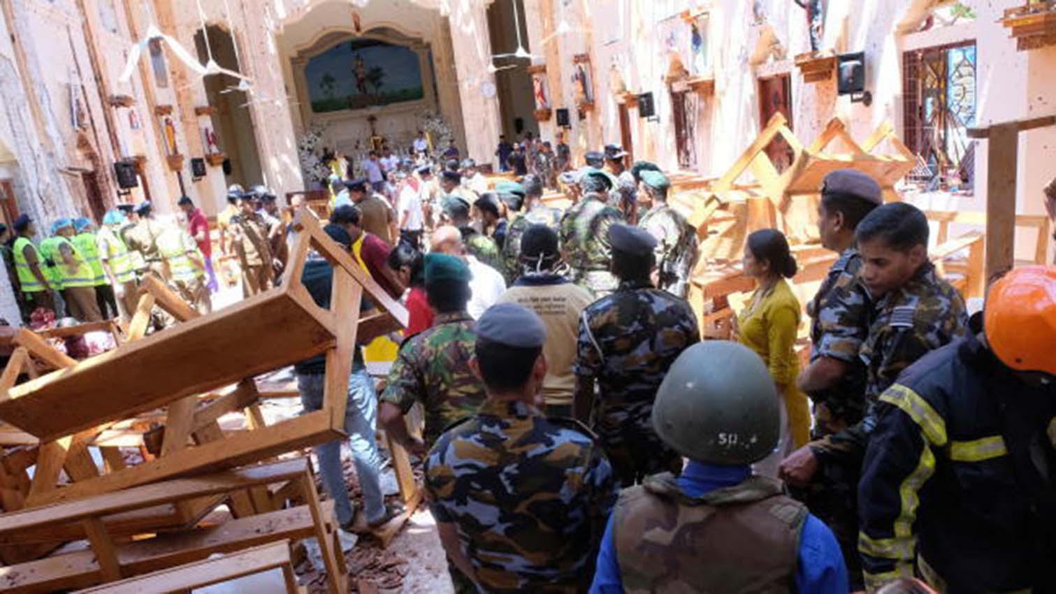 Interpol anuncia el arresto de un sospechoso de los atentados de Sri Lanka