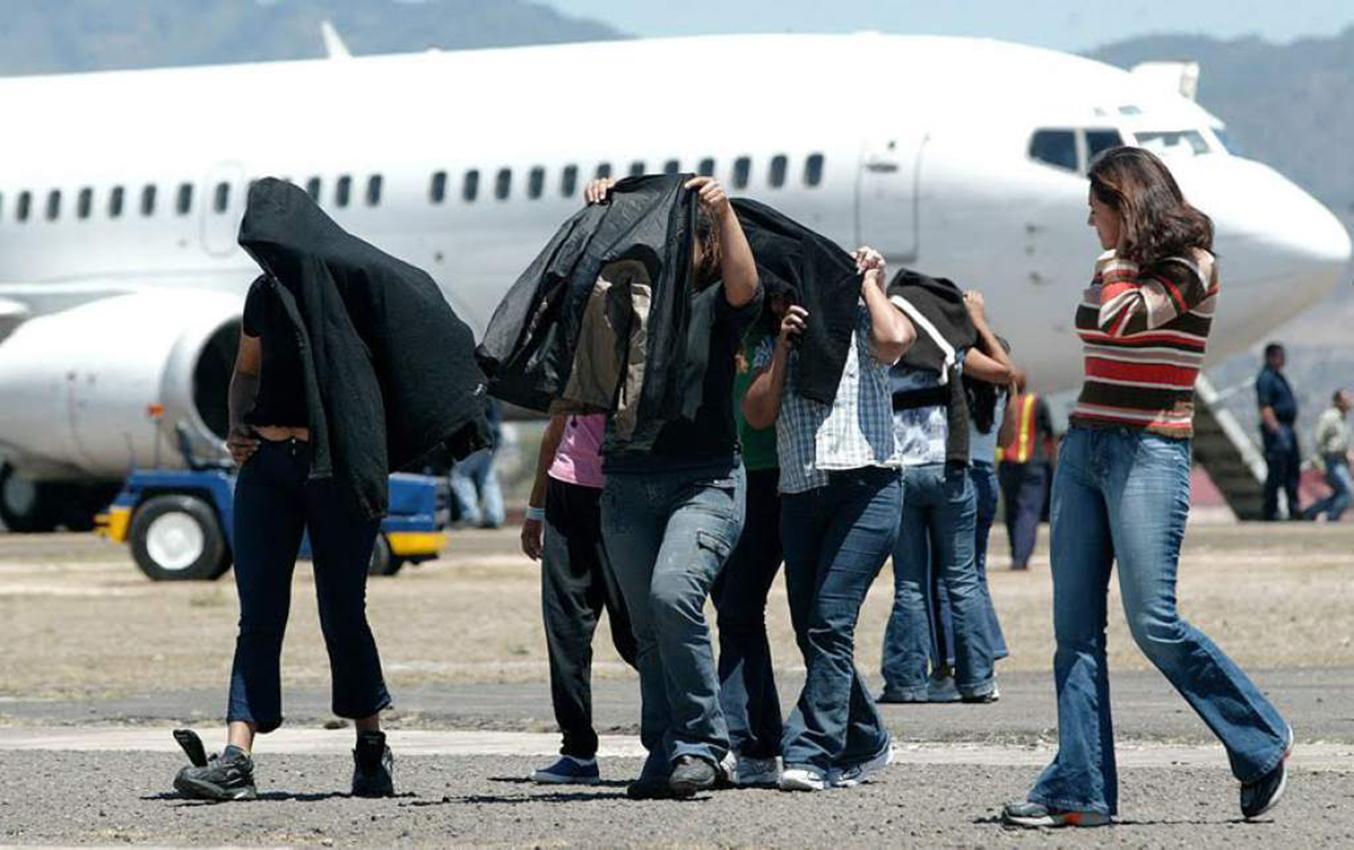 a deportación de inmigrantes hondureños aumentó. Foto con fines ilustrativos