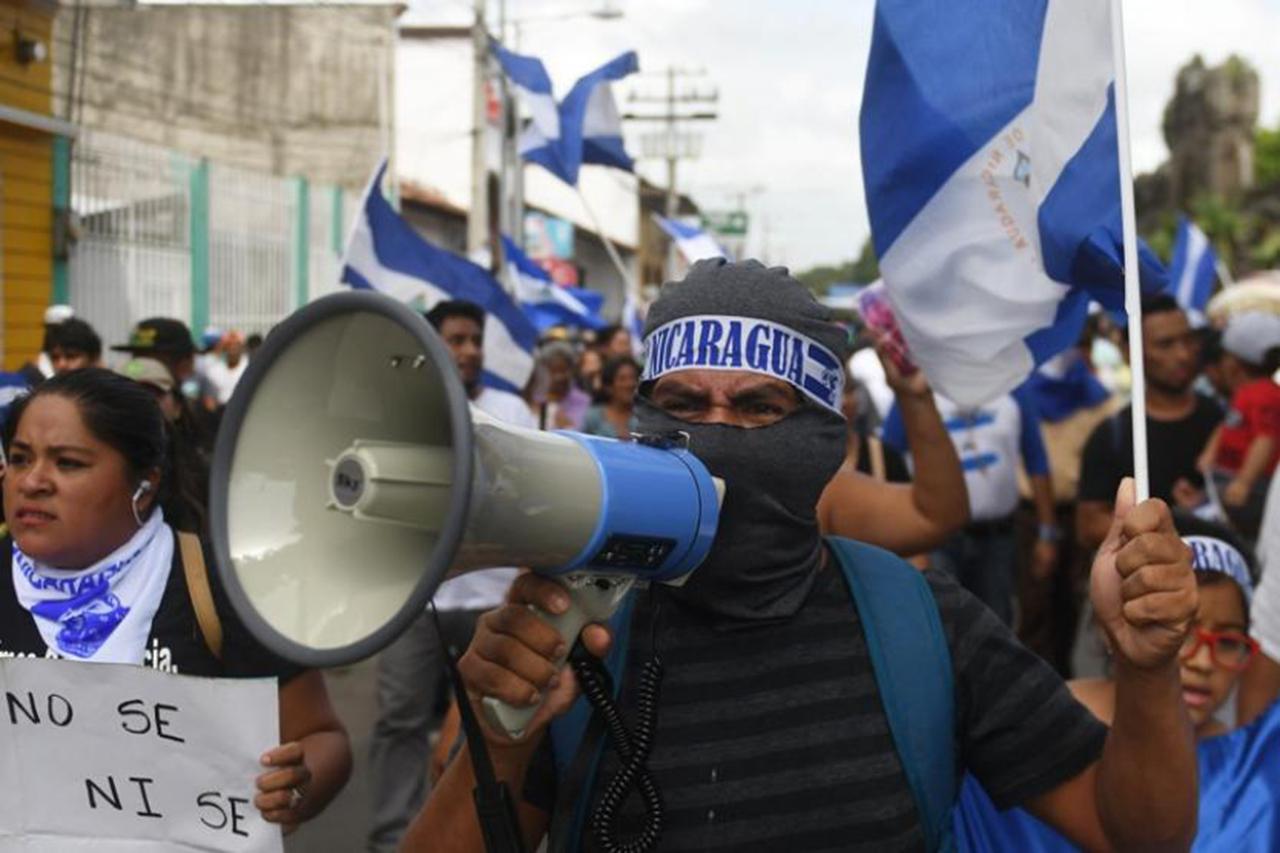 Liberan a dirigentes de protestas contra Daniel Ortega Foto con fines ilustrativos