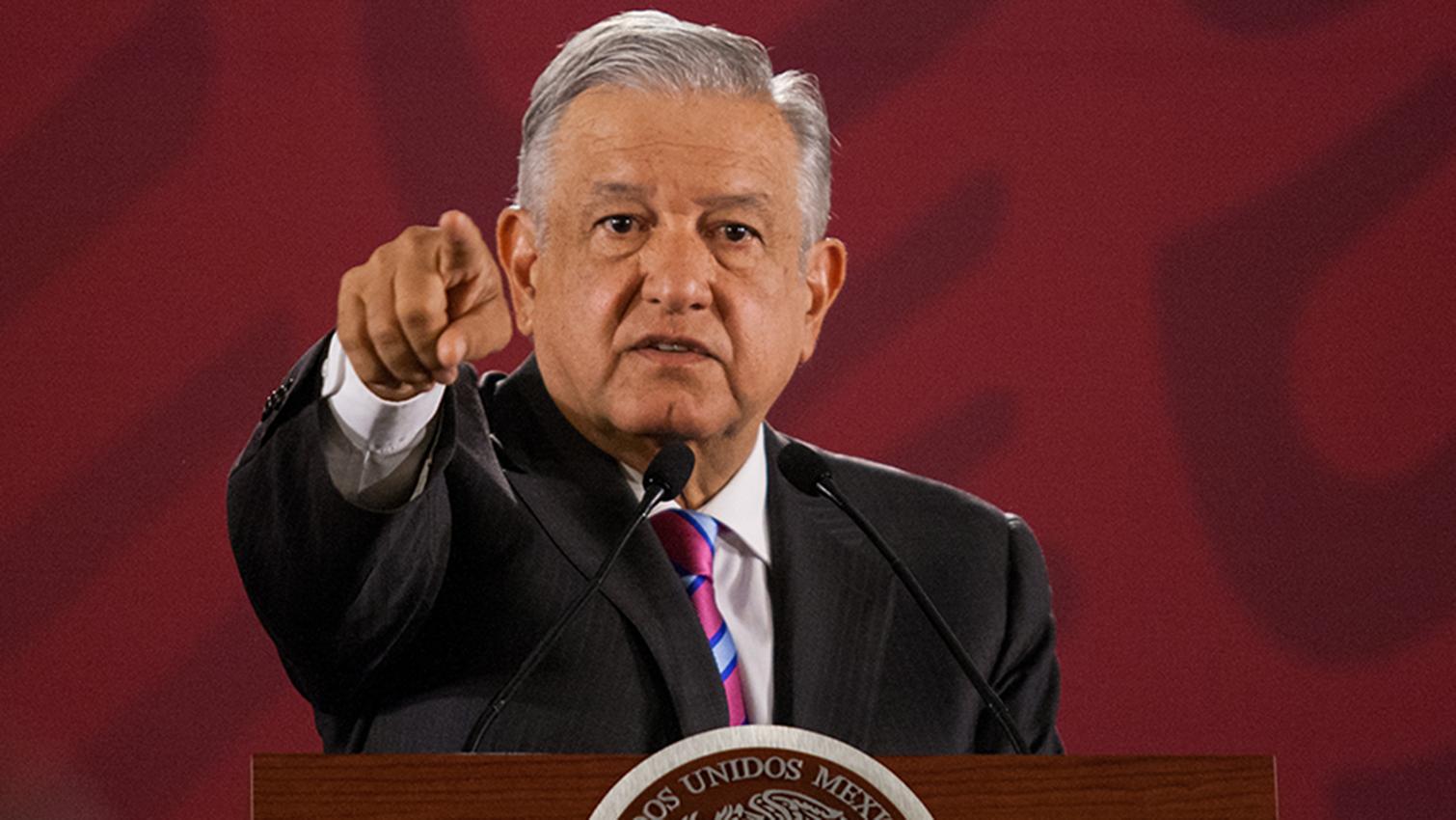 López Obrador responde a EEUU. Foto con fines ilustrativos