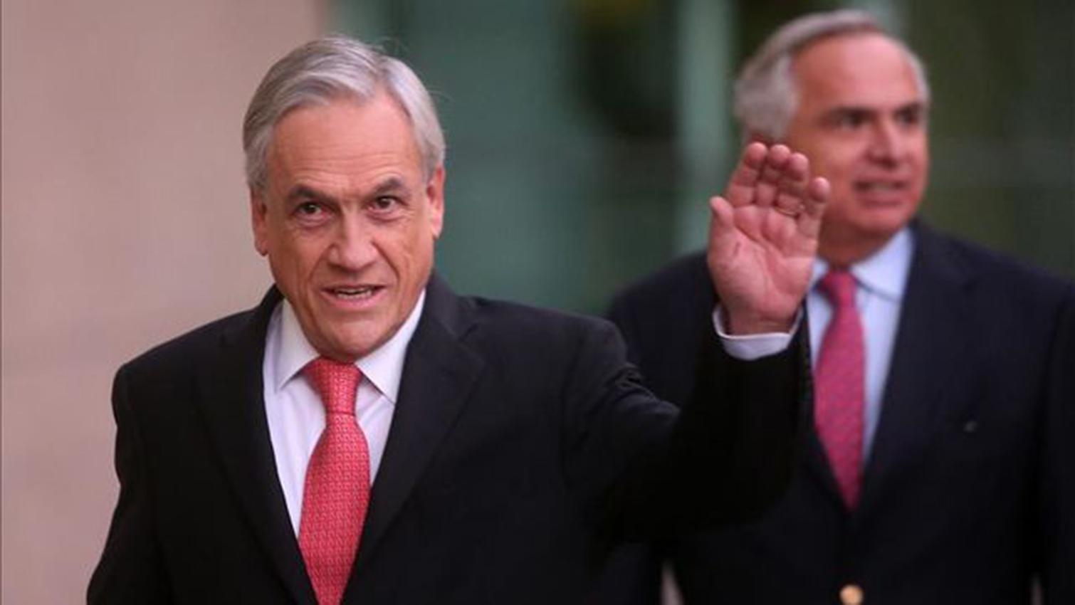 El presidente chileno, Sebastián Piñera, anunció una remodelación de su gabinete Foto con fines ilustrativos