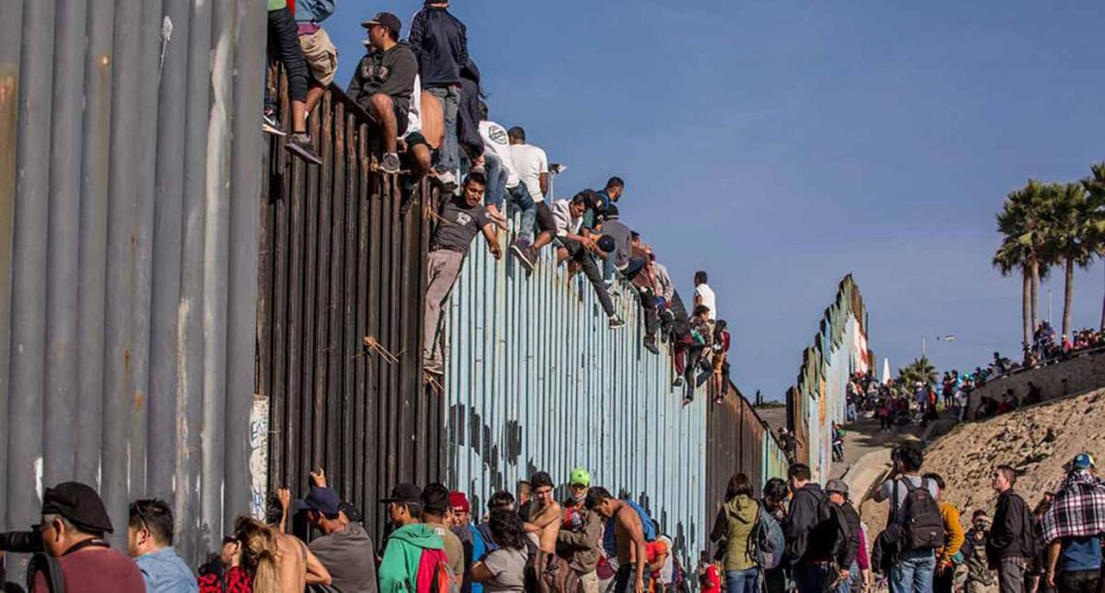 Tráfico de migrantes de México a EEUU Foto con fines ilustrativos