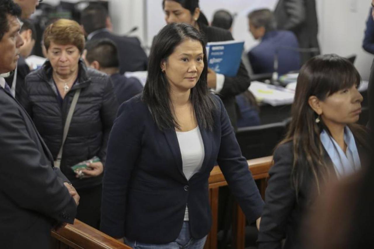 Tribunal peruano rechaza recurso para liberar a Keiko Fujimori