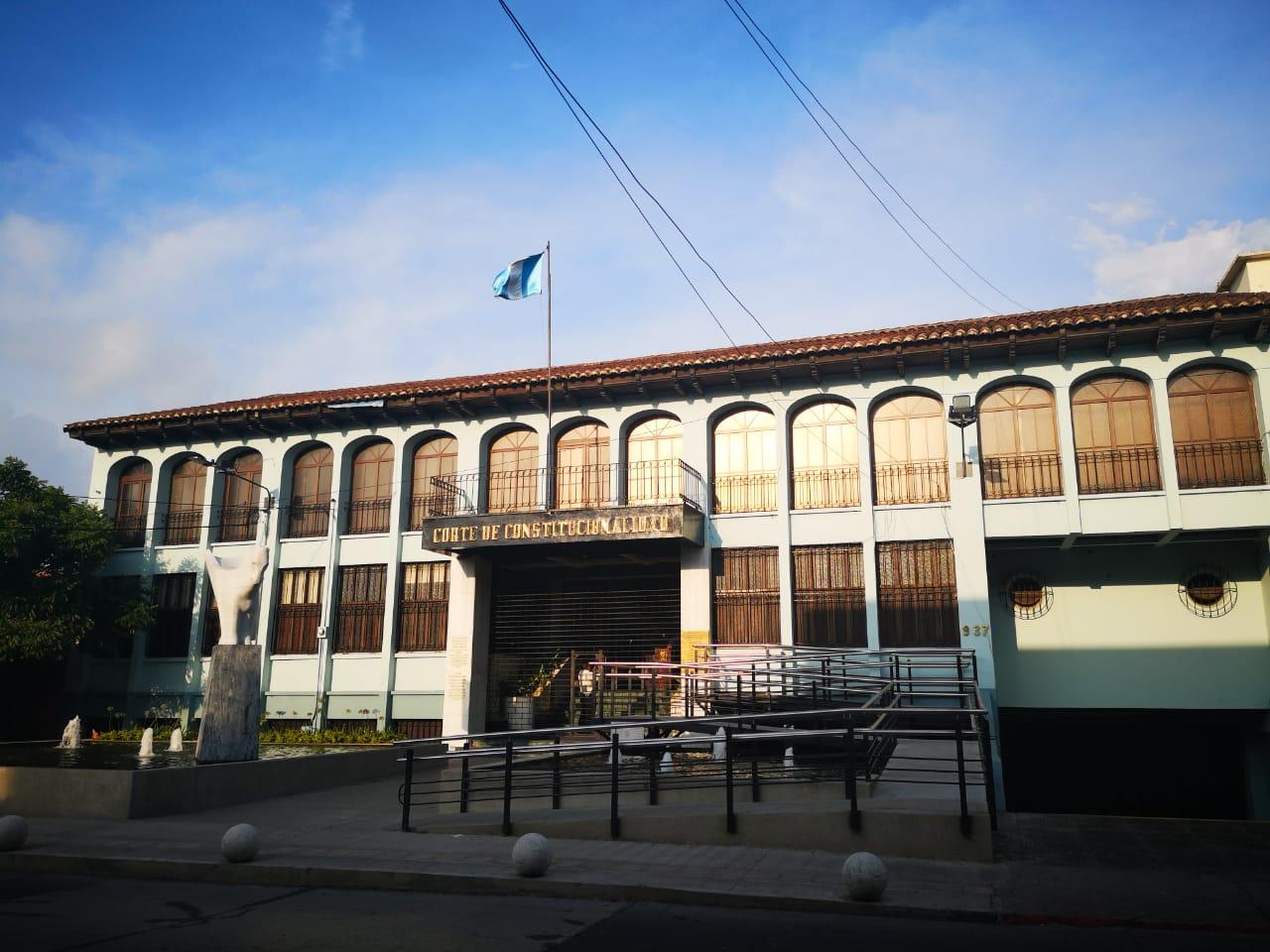 Corte de Constitucionalidad.