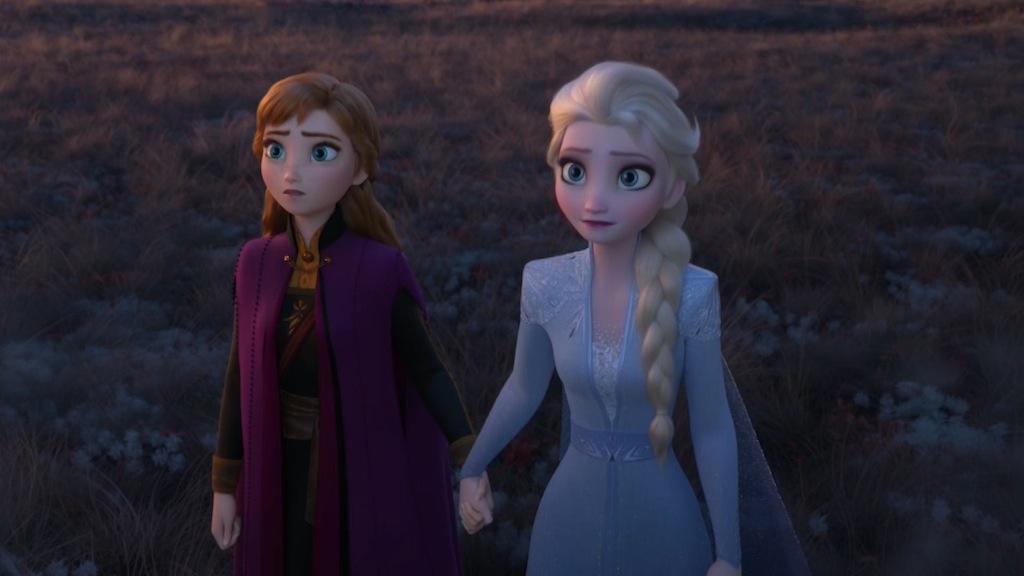 Elsa y Ana de Frozen