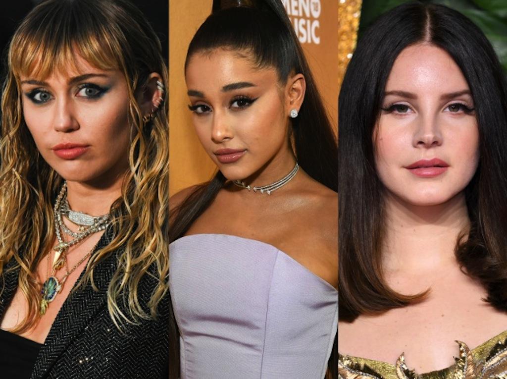 Miley, Ariana y Lana del Rey