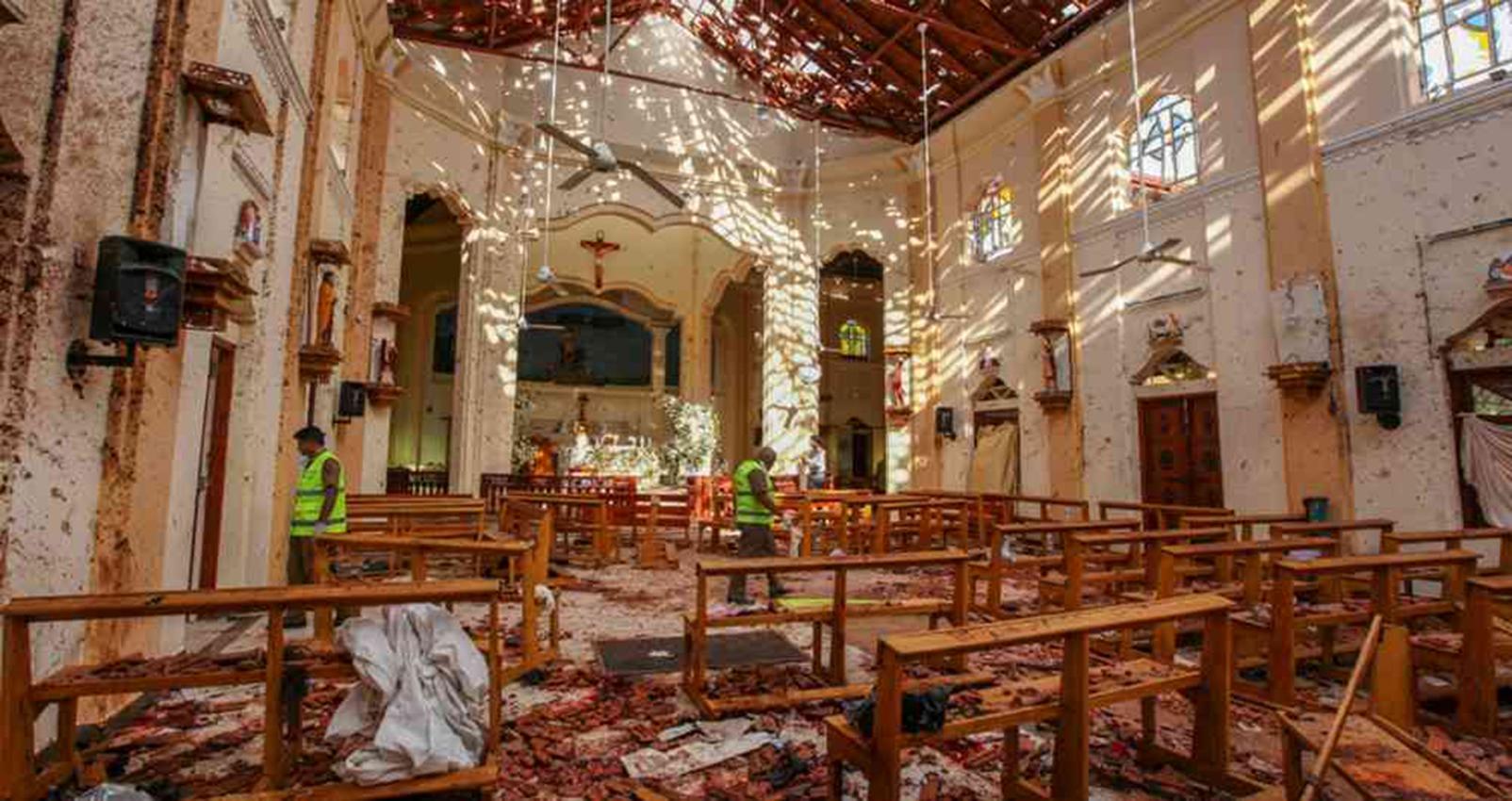 Capturan a exfuncionarios por negligencia en atentados en Sri Lanka