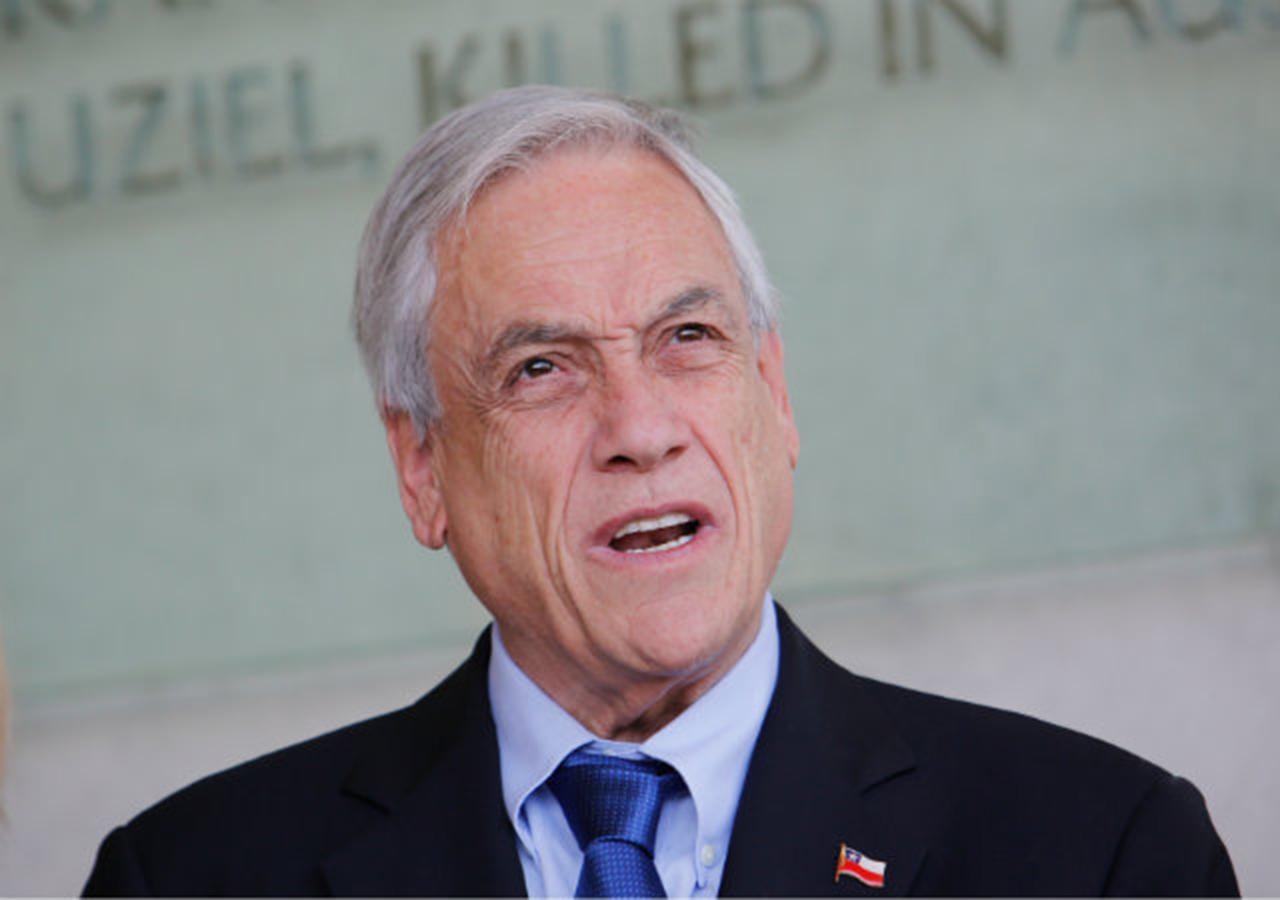 El presidente chileno, Sebastián Piñera
